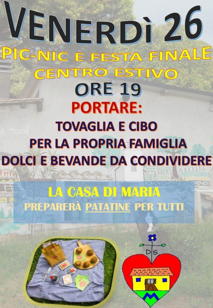 festa-finale-centro-estivo-2019